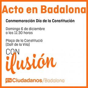 E-20D | Acto Día de la Constitución