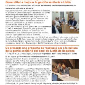 Boletín Cs Badalona | Noviembre