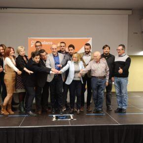 Cs Badalona presenta a Juan Miguel López como candidato a las elecciones municipales del 26M